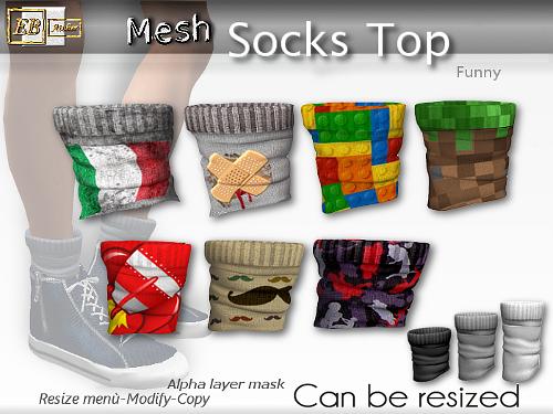 https://marketplace.secondlife.com/p/EB-Atelier-MeshSocks-Top-FUNNY-Resize-Modify-italian-designer/9281770