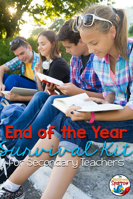 End of the Year Survival Kit for Teachers