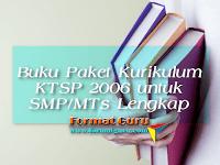 Buku kurikulum KTSP 2006 untuk SMP/MTs kelas IX