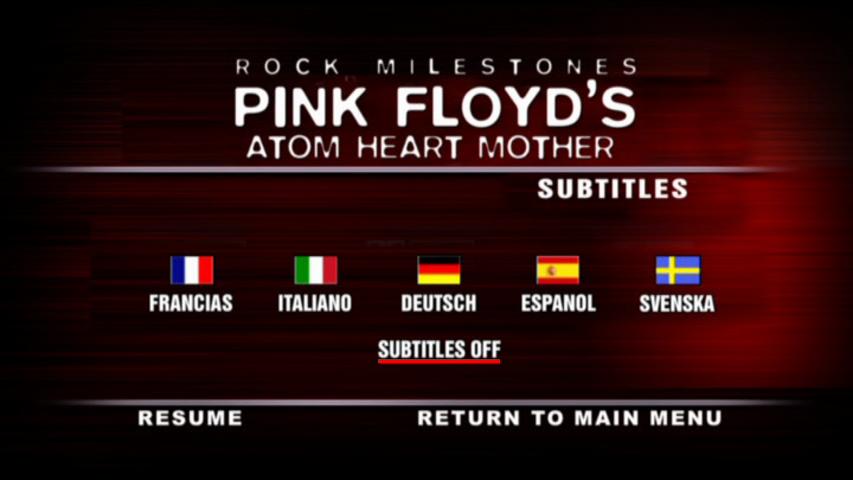 Pink Floyd Milestones