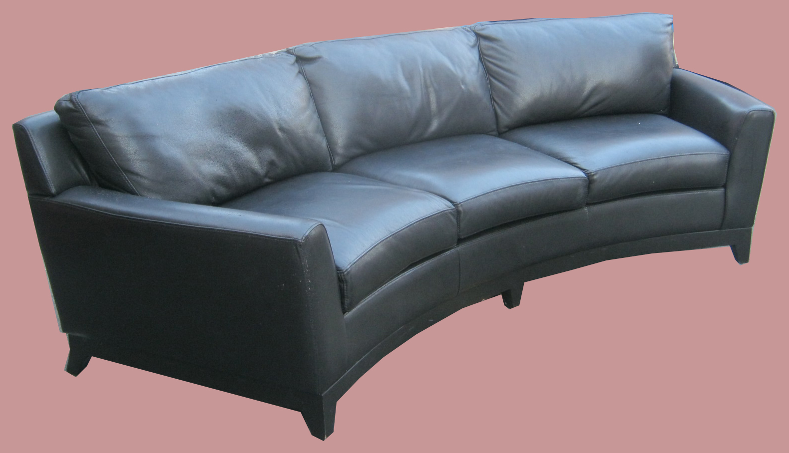 crescent sofa leather chicago tickets uhuru furniture and collectibles black