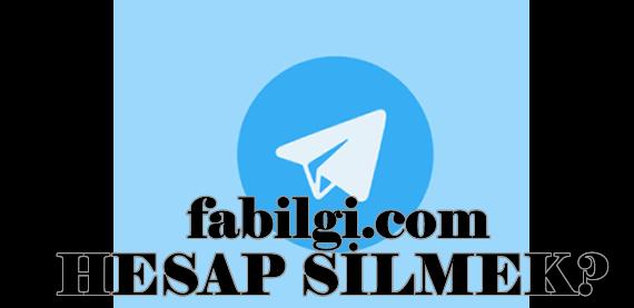 Telegram Hesabını Kalıcı Olarak Kapatma & Silmek Kesin Yöntem 2020