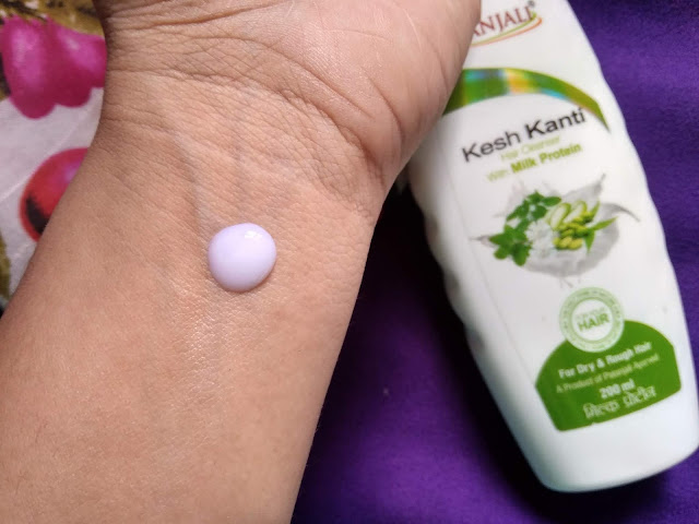 Patanjali Milk Protein Hair cleanser Review