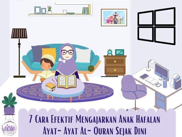 Mengajarkan anak hafalan al quran