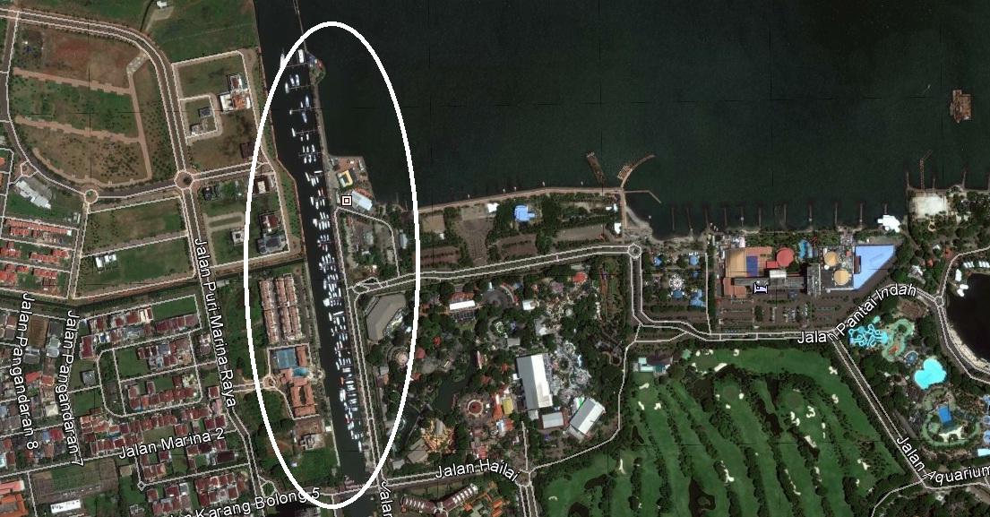 INFO JAKARTA: PELABUHAN MARINA ANCOL