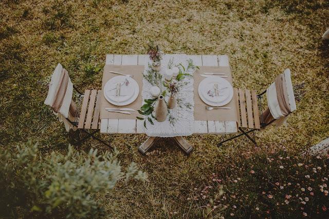 decoracion boda rustica con arpillera - Blog Mi Boda