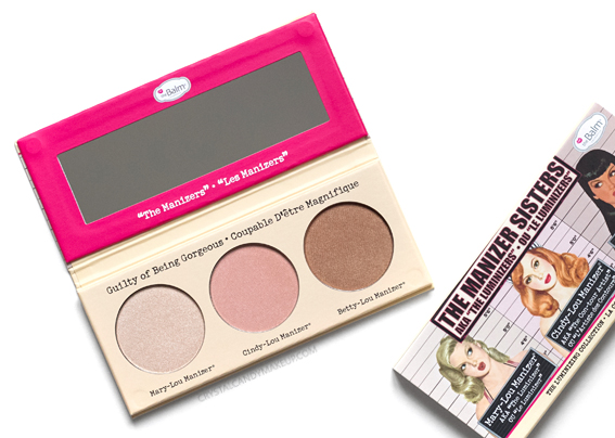 TheBalm The Manizer Sisters Palette Betty Mary Cindy Lou Review Photos Swatches