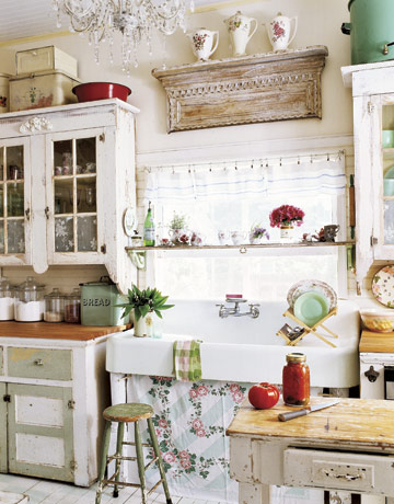Maison Decor Country Living Style Kitchens
