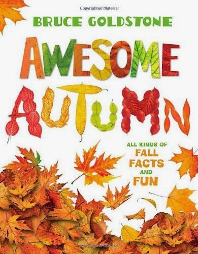 Awesome Autumn, part of children's book review list about fall