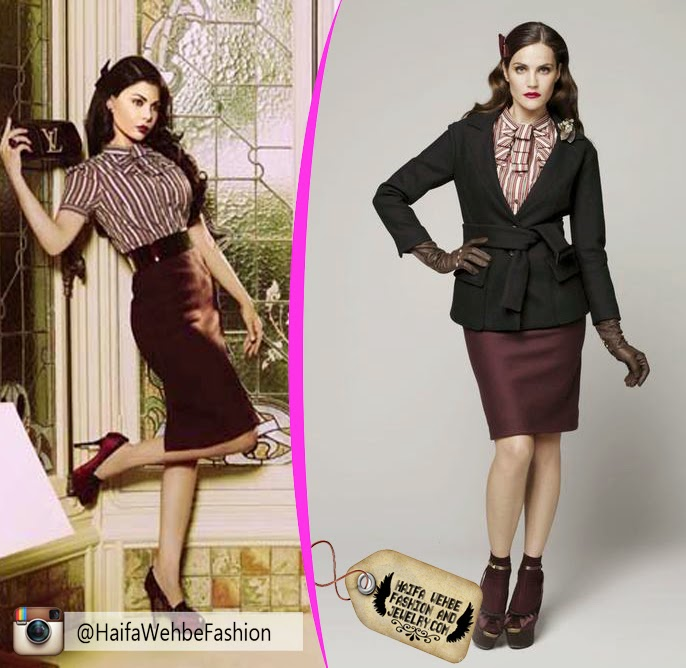 575e83f785003 Haifa Wehbe Wearing from Louis Vuitton Pre-Fall 2009 Collection