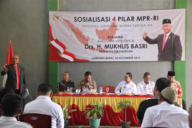 Sosialisasi Empat Pilar MPR RI bersama Drs. H. Mukhlis basri
