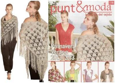 Revista punto-moda número 116 ganchillo-tricot