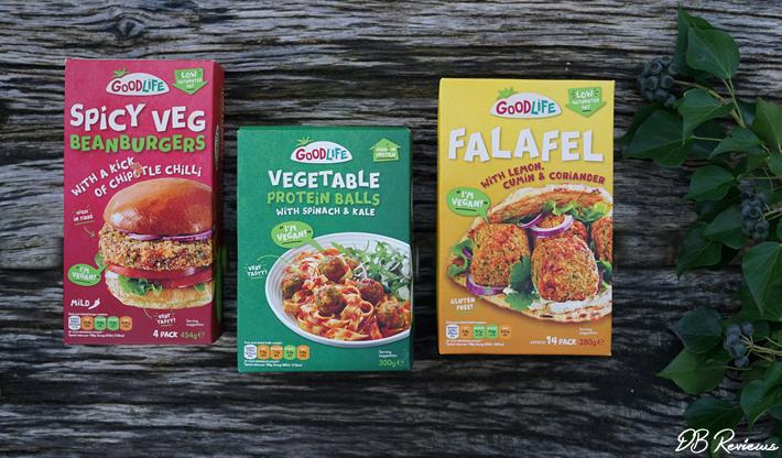 Goodlife Foods vegan frozen meals