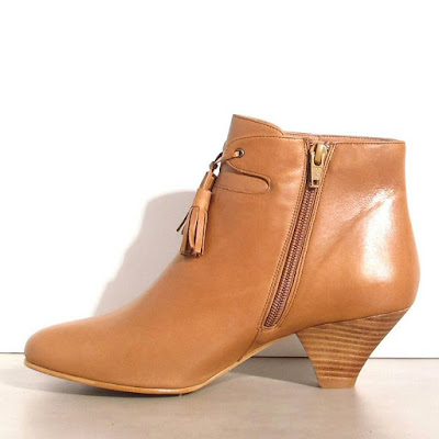 Boots cuir marron Sessun