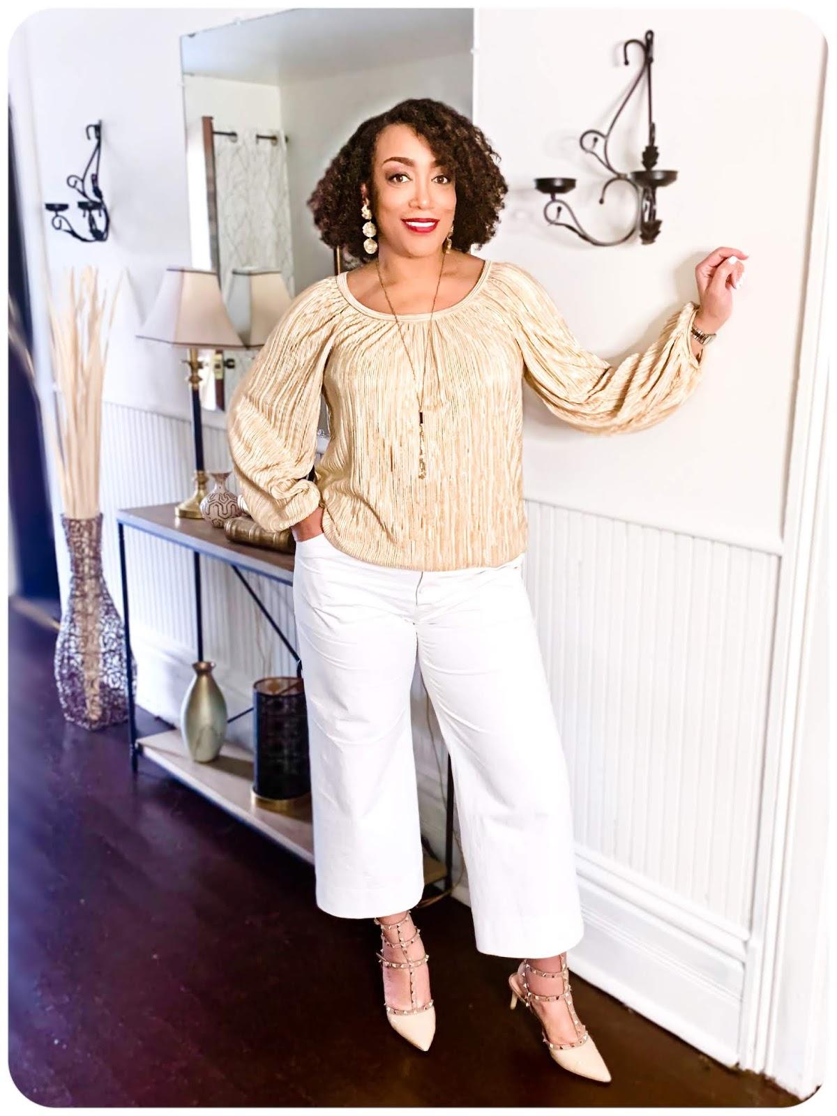 Vogue 8581 Top & True Bias Lander Pants - Erica Bunker DIY Style!