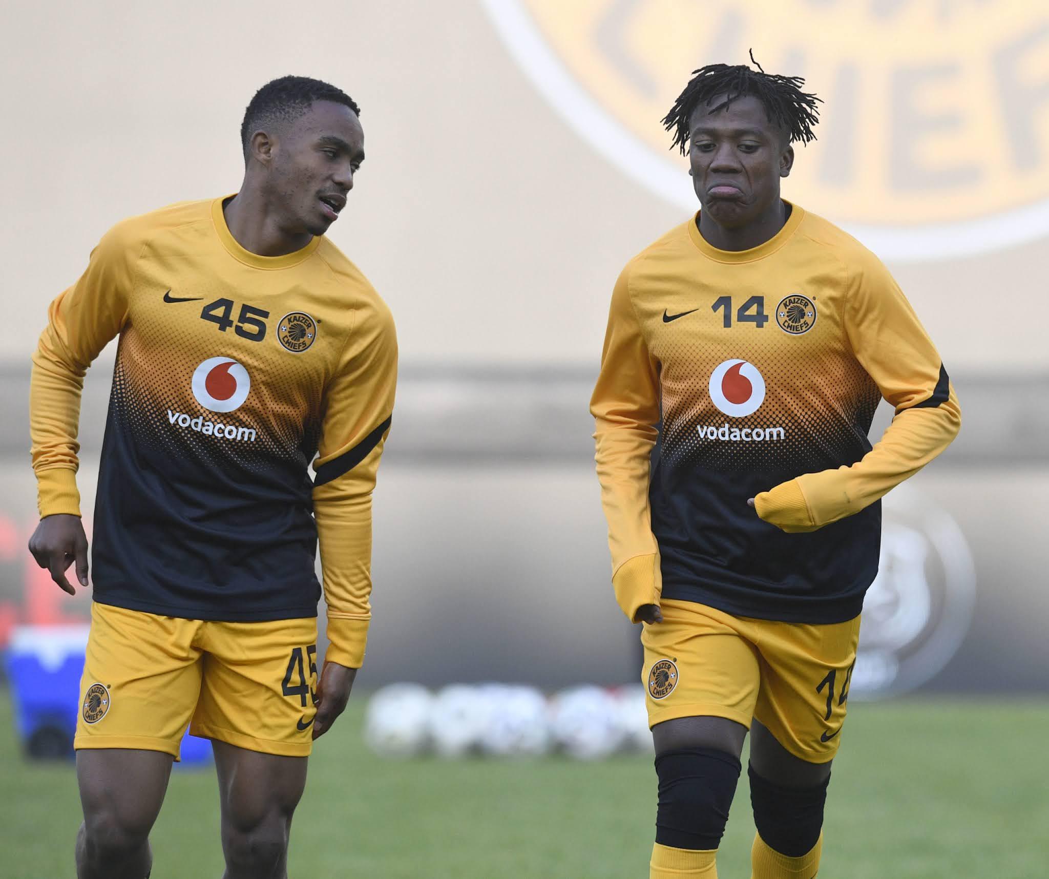 Njabulo Blom and Kgaogelo Sekgota