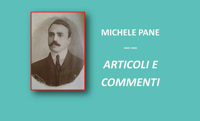 Articoli e Commenti su Michele Pane