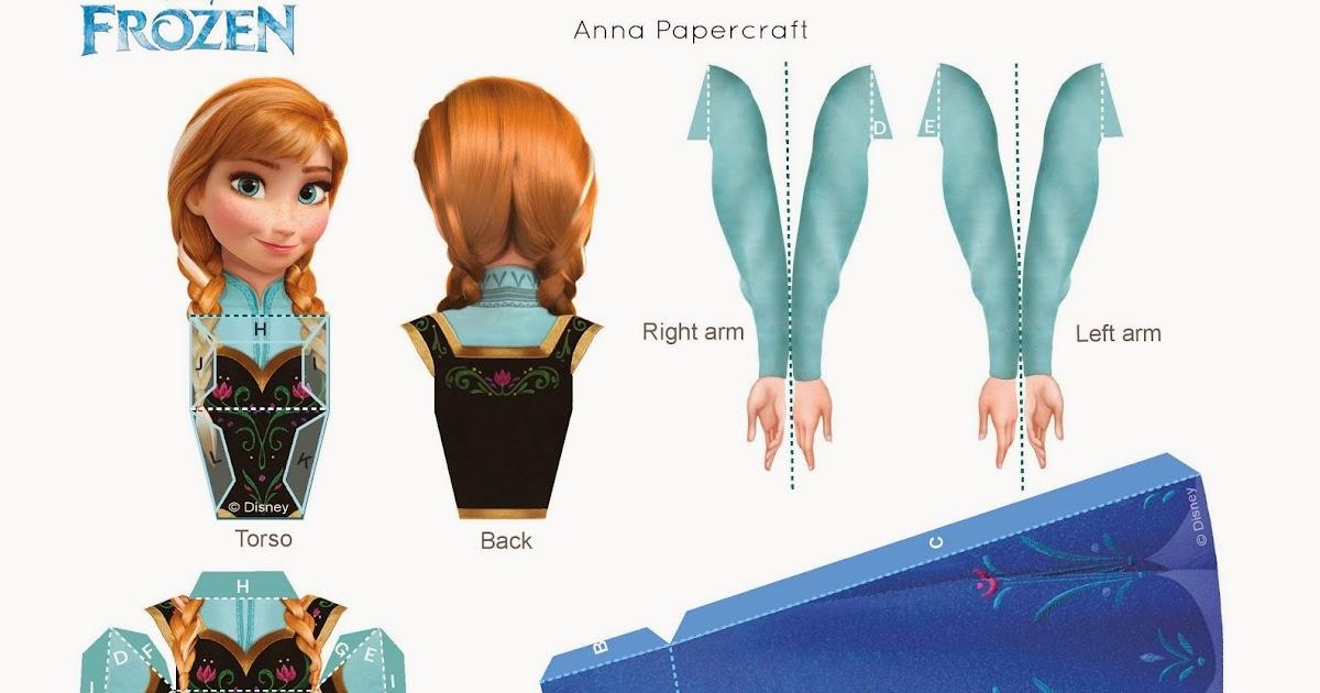"""Elsa Saudades De Voces: Bonecas Anna, Elsa E Olaf Do Filme """"Frozen"""" Para Imprimir"""