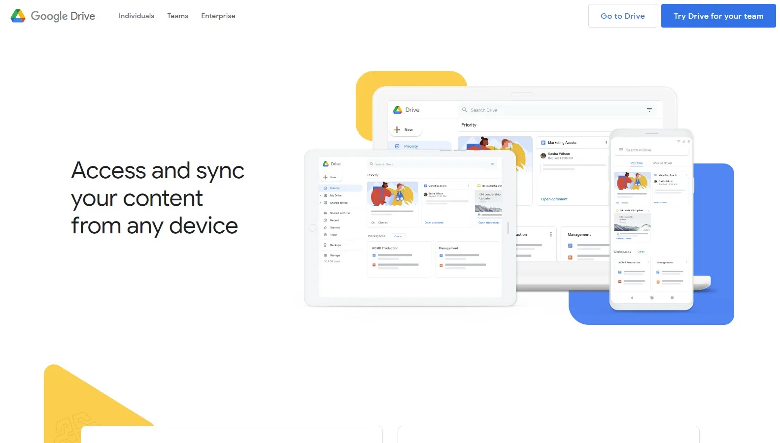 Google Drive - Some of the Best Free Cloud Storage Options in 2021