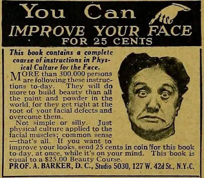 You can improve your face