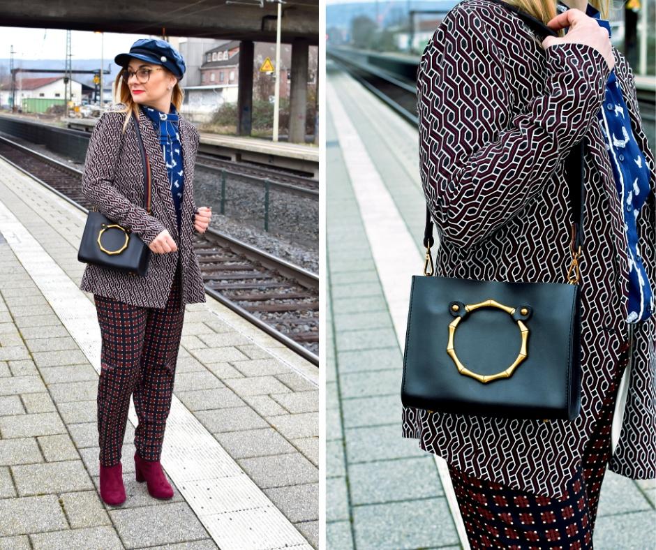 Welche Muster passen ins Büro? Modebloge für Frauen ab 30 und ab 40.