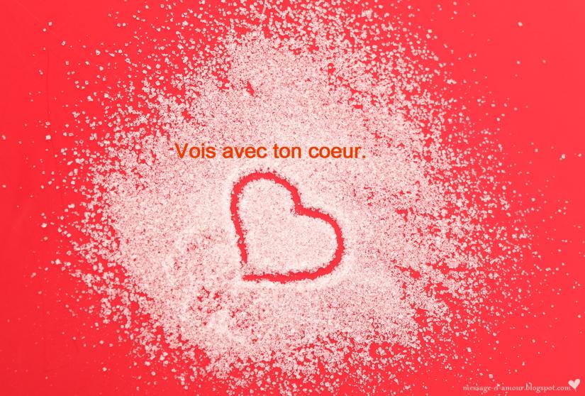 Message d'amour: Citations sur le coeur et l'amour