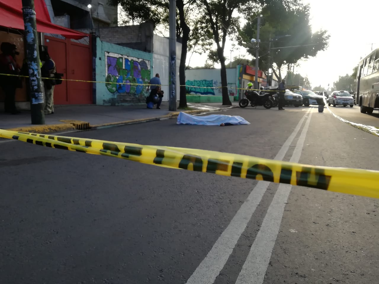 Justiciero anónimo desarma y mata a ratero con su propia pistola en el Barrio San Lucas, de la Alcaldía Iztapalapa