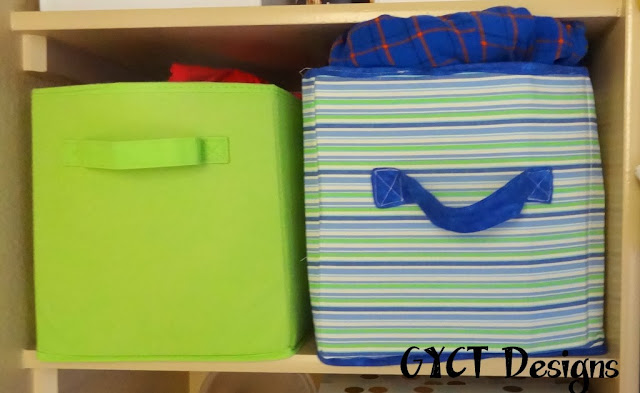 how to make collapsible fabric boxes
