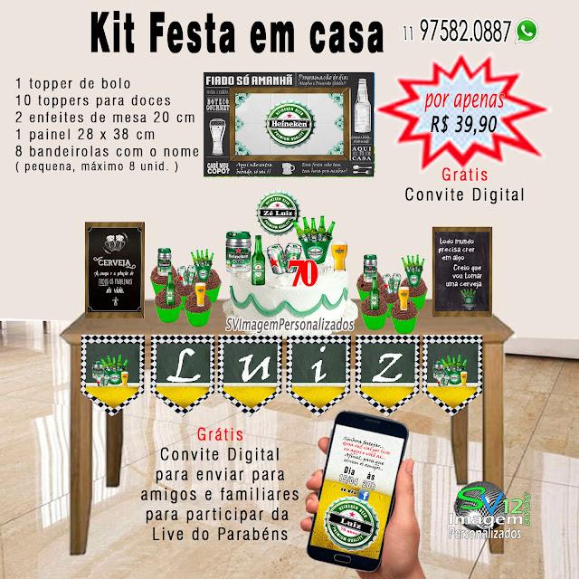 Dica Festa Boteco Heineken, os preços mais baratos para personalizados
