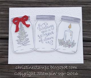 Jar of Cheer Stampin' Up!