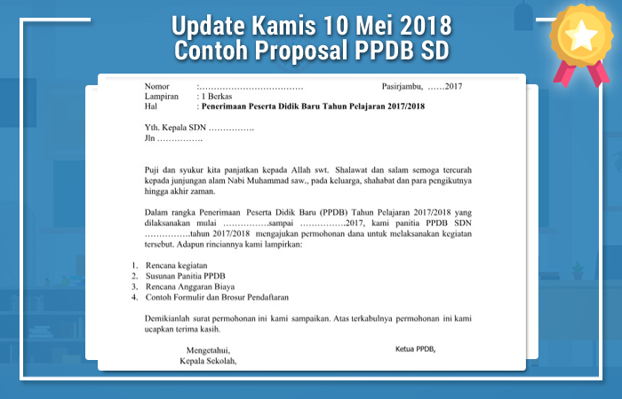 Contoh Proposal PPDB (Penerimaan Peserta Didik Baru) TA 2017 2018.docx