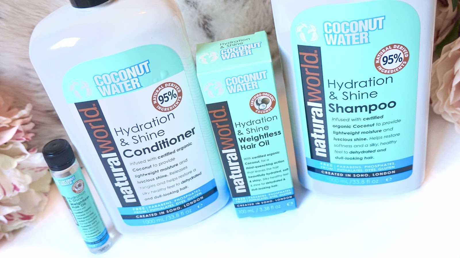 Natural World Coconut Water Range