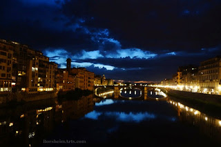 Florence, Italy  Lights Natural and Real