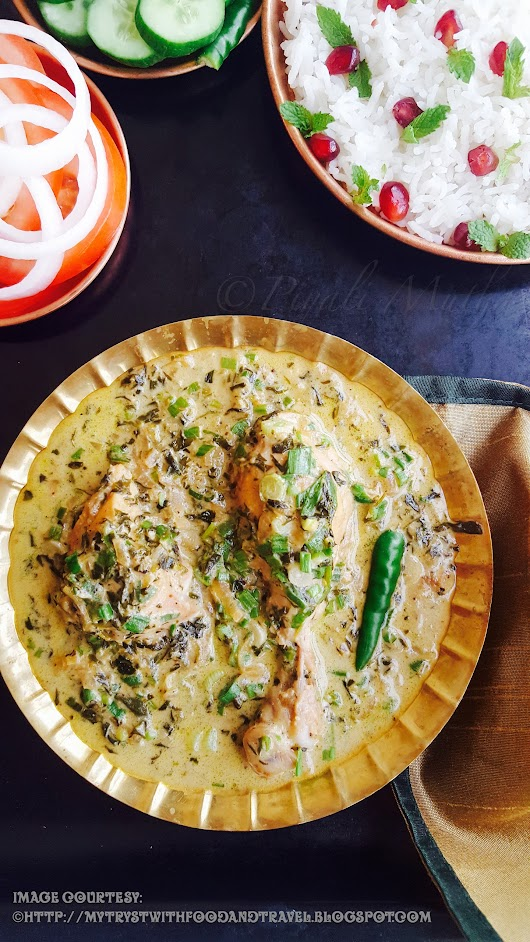 Murgh Methi Malai Recipe / Chicken Cooked In Fenugreek Leaves And Fresh Cream