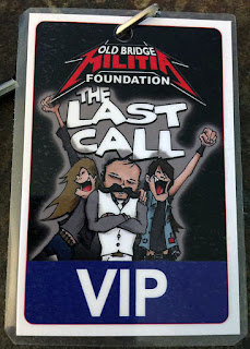 VIP pass for Emmett's Inn one last time night of rock August 5, 2016