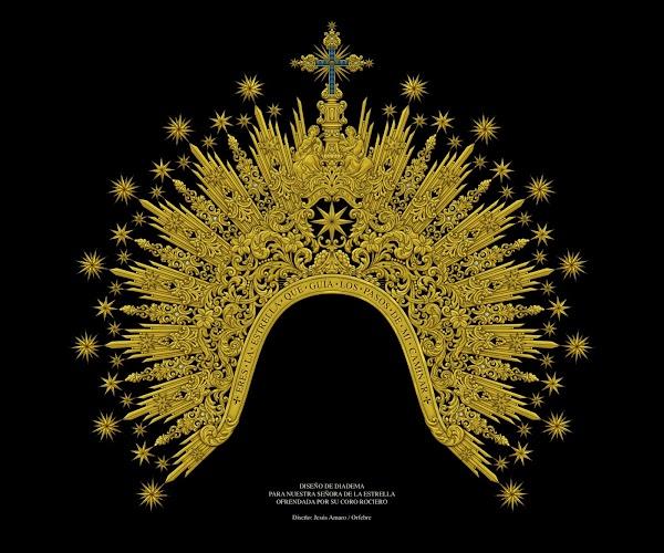 Una nueva diadema para Nuestra Señora de la Estrella