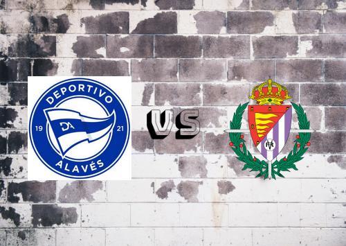 Deportivo Alavés vs Real Valladolid  Resumen