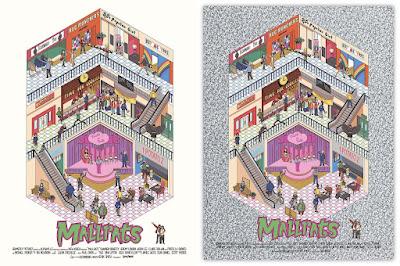 Mallrats Print by George Bletsis x Vice Press