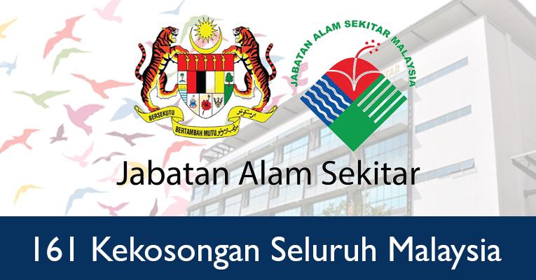 Jawatan Kosong di Jabatan Alam Sekitar Malaysia