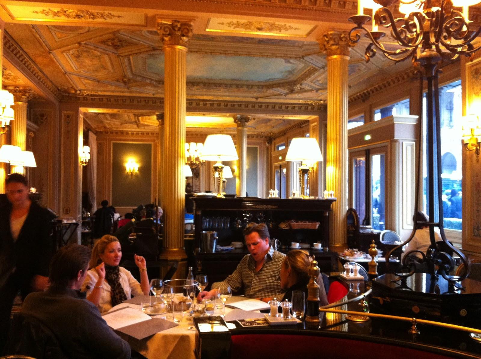 TASTE OF HAWAII: RESTAURANT CAFE DE LA PAIX - PARIS, LONDON