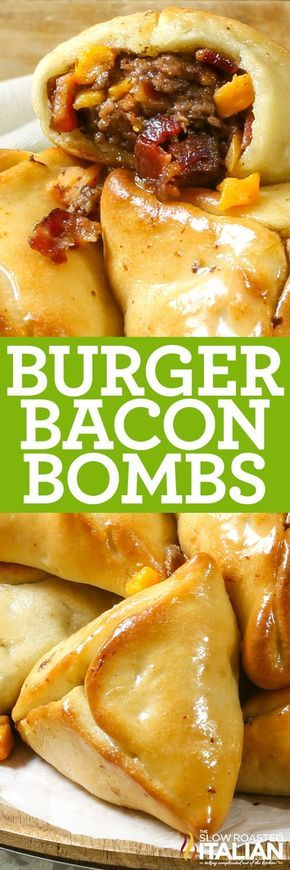 Bacon Burger Bombs