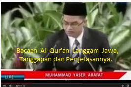 Haramkah Baca Al-Qur'an Dengan Langgam/Irama Jawa?
