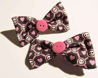 How to make these adorable hand sewn hair bows