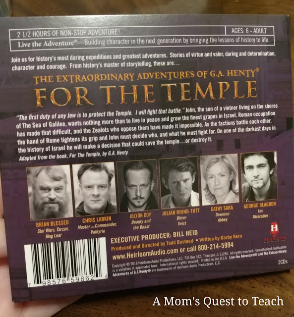 Cast of For The Temple