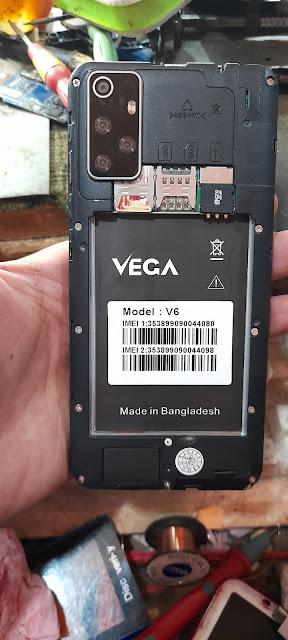 Vega V6 Flash File MT6572 9.0 Dead Hang Logo LCD Fix CM2 Read Firmware