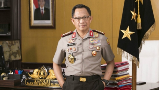 Kapolri Minta Jokowi Naikkan Tunjangan TNI-Polri 100 Persen