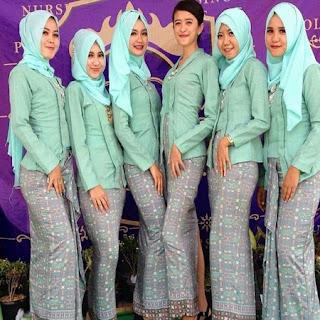 kebaya kutu baru brokat hijab