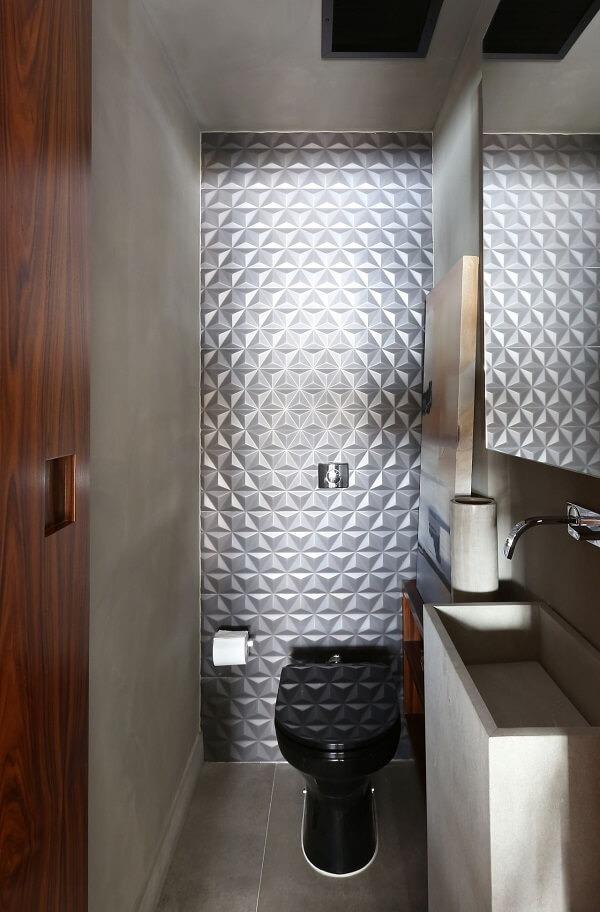 3D tile model for small bathroom