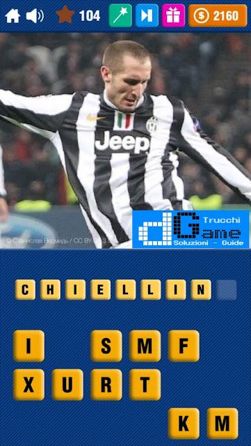 Calcio Quiz 2017 soluzione livello 101-110 | Parola e foto