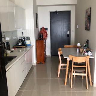 nhà bếp chung cư an gia star 2 phòng ngủ bình tân